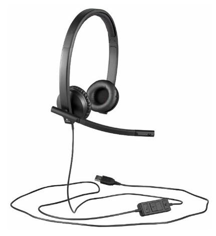 Компьютерная гарнитура Logitech USB Headset Stereo H570e