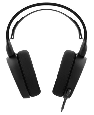 Наушники с микрофоном SteelSeries Arctis 3 Black