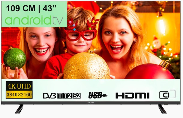 Телевизор I-STAR L43U550AN