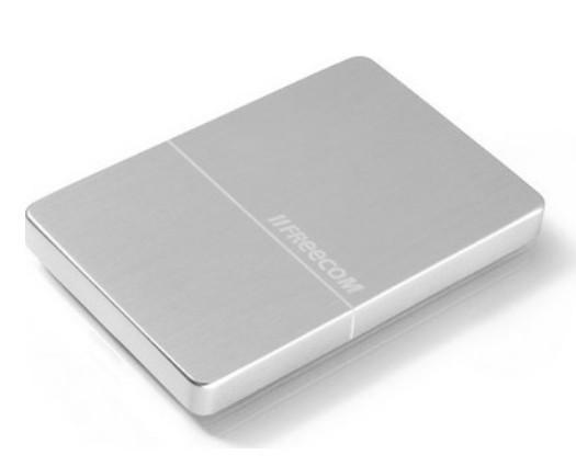 """Внешний жёсткий диск 2000GB Freecom 2, 5"""" (mHDD Mobile Drive Metal slim Silver) USB 3.0"""