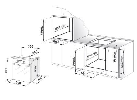 Духовой шкаф GEFEST ЭДB ДА 602-01
