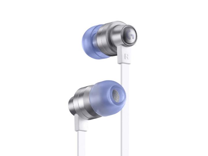 Игровые наушники с микрофоном Logitech G333 White