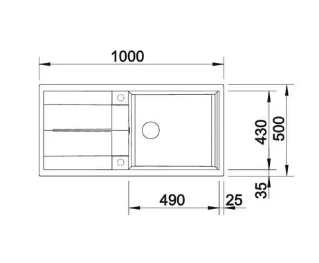 Мойка Blanco Metra XL 6S Silgranit PuraDur II бетон + КА