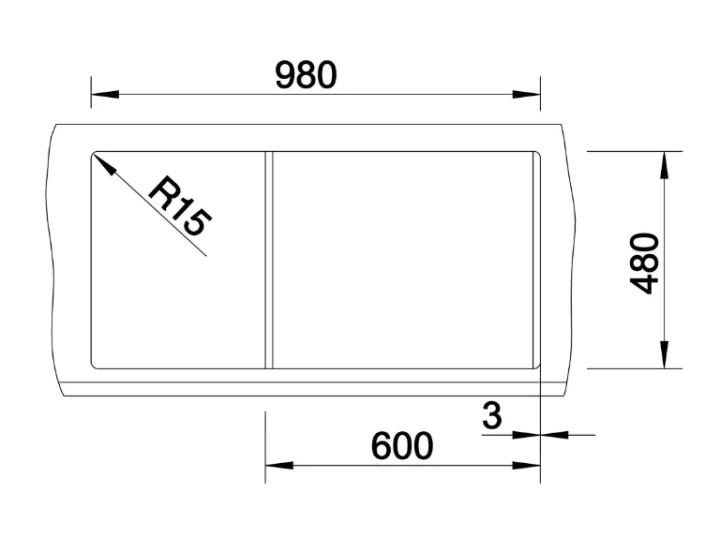 Мойка Blanco Metra XL 6S Silgranit PuraDur II белый +КА
